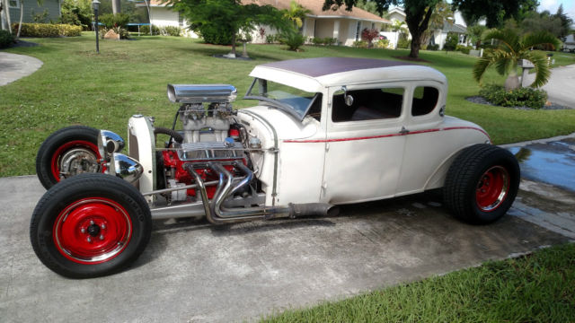 1931 5 Window Coupe Rat Rod Street Rod No Reserve