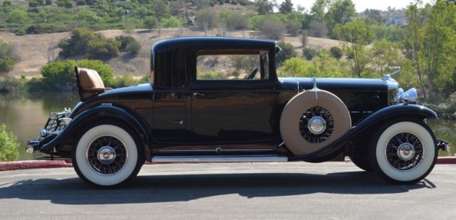 1931 Cadillac 370A Rumble Seat Coupe V 12