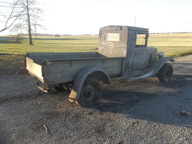 1931 chevy pickup truck rat rod barn find no reserve for Motor city barn finds