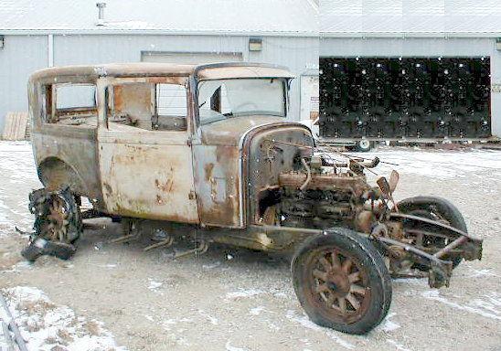 1931 Chrysler 70 Brougham 2 Dr Sedan 6 Cylinder With Title