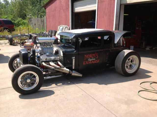 1931 Ford 5 Window Coupe Rat Rod Classic Ford Model A