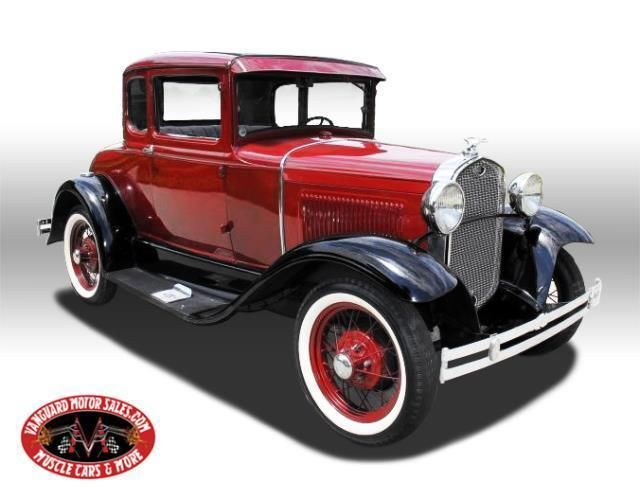 1931 Ford 5 Window Coupe Steel Body Gorgeous Hot