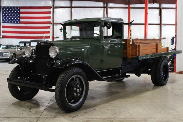 1931 ford aa 49999 miles green pickup truck 4 cylinder manual classic ford other 1931 for sale. Black Bedroom Furniture Sets. Home Design Ideas