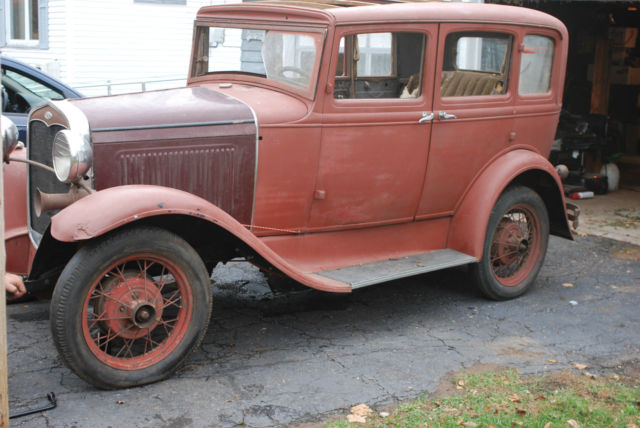 1931 ford model a 4 door sedan slant window rust free hot for 1931 ford model a 4 door for sale