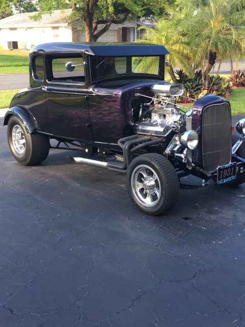 1931 ford model a 5 window coupe all steel high boy hot for 1931 ford 5 window coupe hot rod