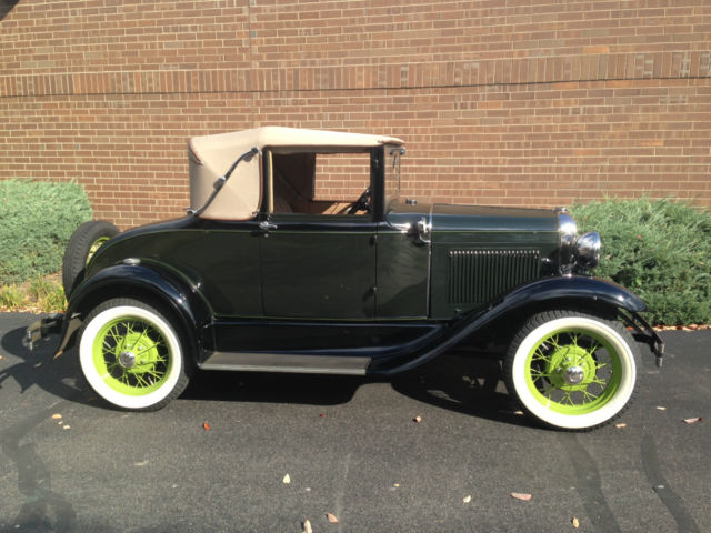 1931 ford model a cabriolet 68b classic ford model a 1931 for sale. Black Bedroom Furniture Sets. Home Design Ideas