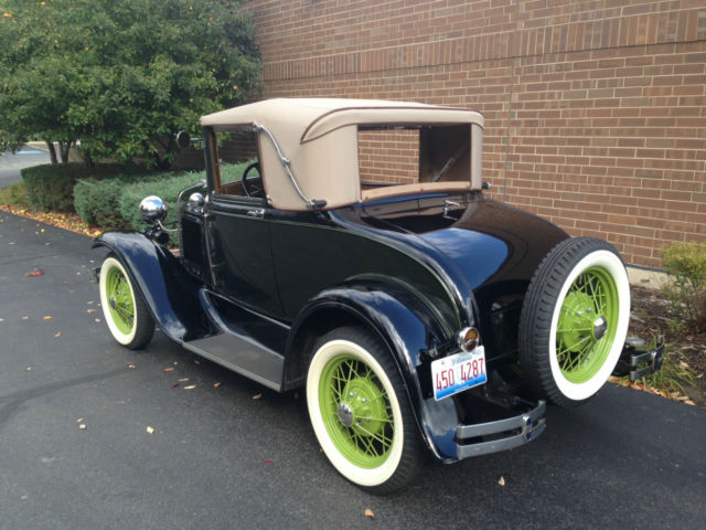 1931 Ford Model A Cabriolet 68B - Classic Ford Model A ...