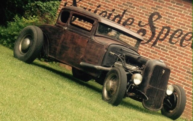 1931 Ford Model A Coupe 5 Window Traditional Hotrod