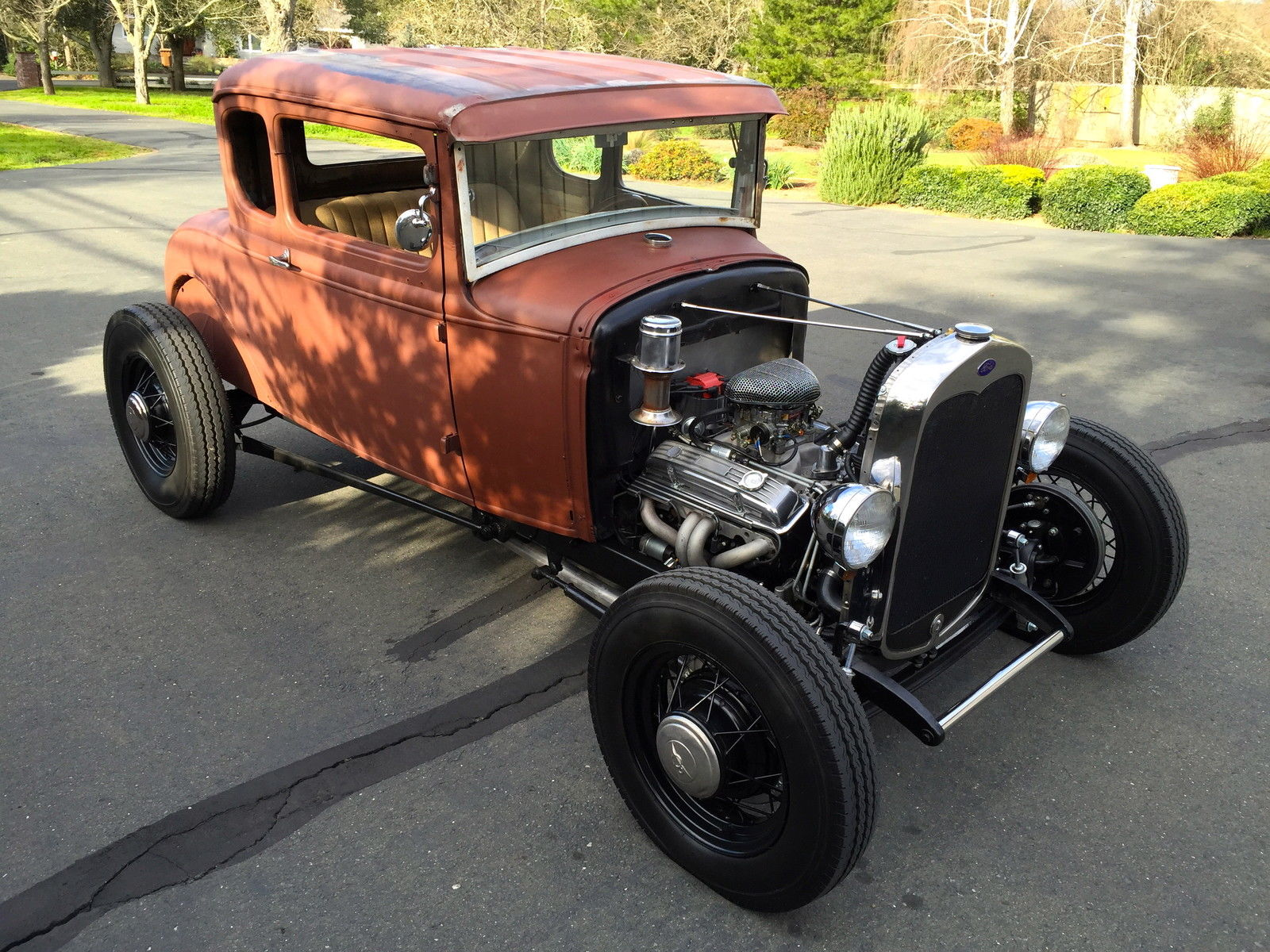 1931 ford model a coupe hot rod v8 california car 1928. Black Bedroom Furniture Sets. Home Design Ideas