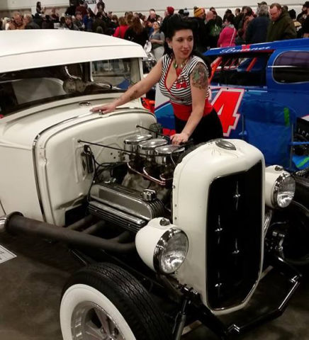 1931 Ford Model A Coupe Traditional Hot Rod 1930 1932