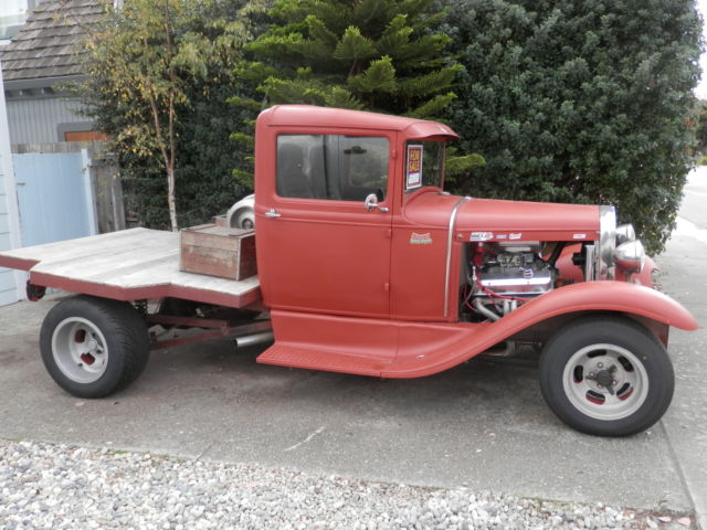 Ford Model A Flatbed Pick Up Awesome Hot Rod Fun Little Truck on Chevy Wiring Harness For In The Bed
