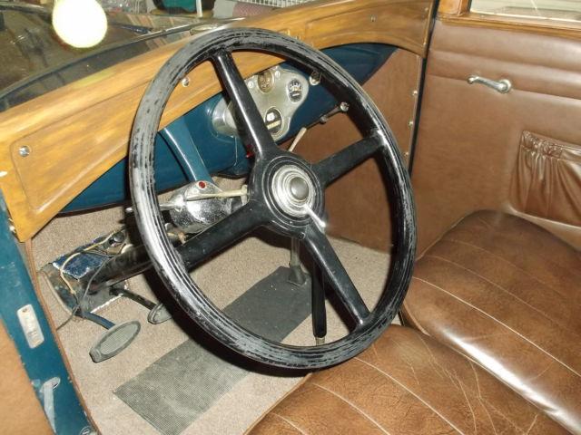 1931 Ford Model Quot A Quot Sedan Convertible A400 Rare Car No