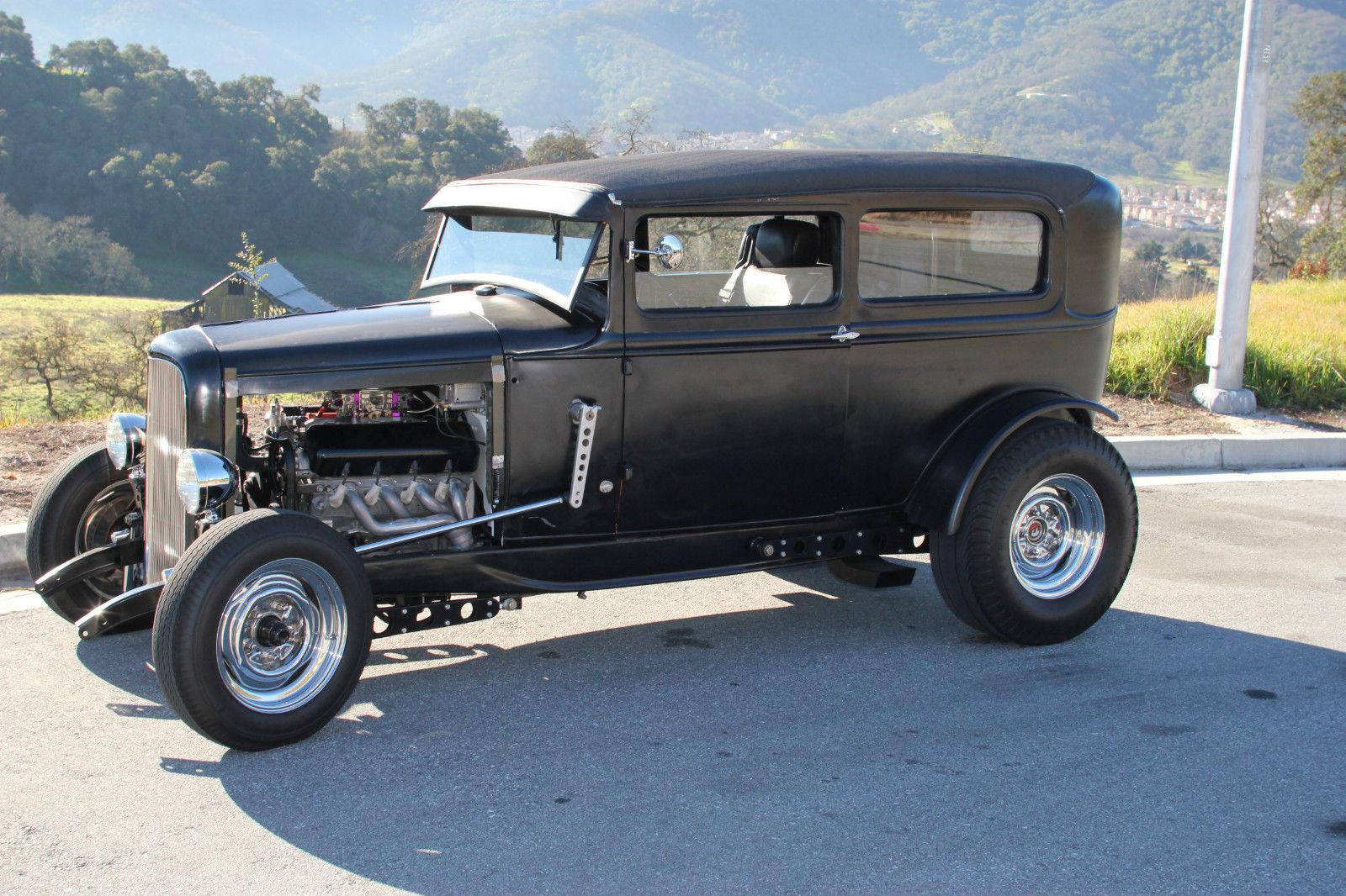1931 ford model a tudor hot rod classic ford model a 1931 for sale. Black Bedroom Furniture Sets. Home Design Ideas