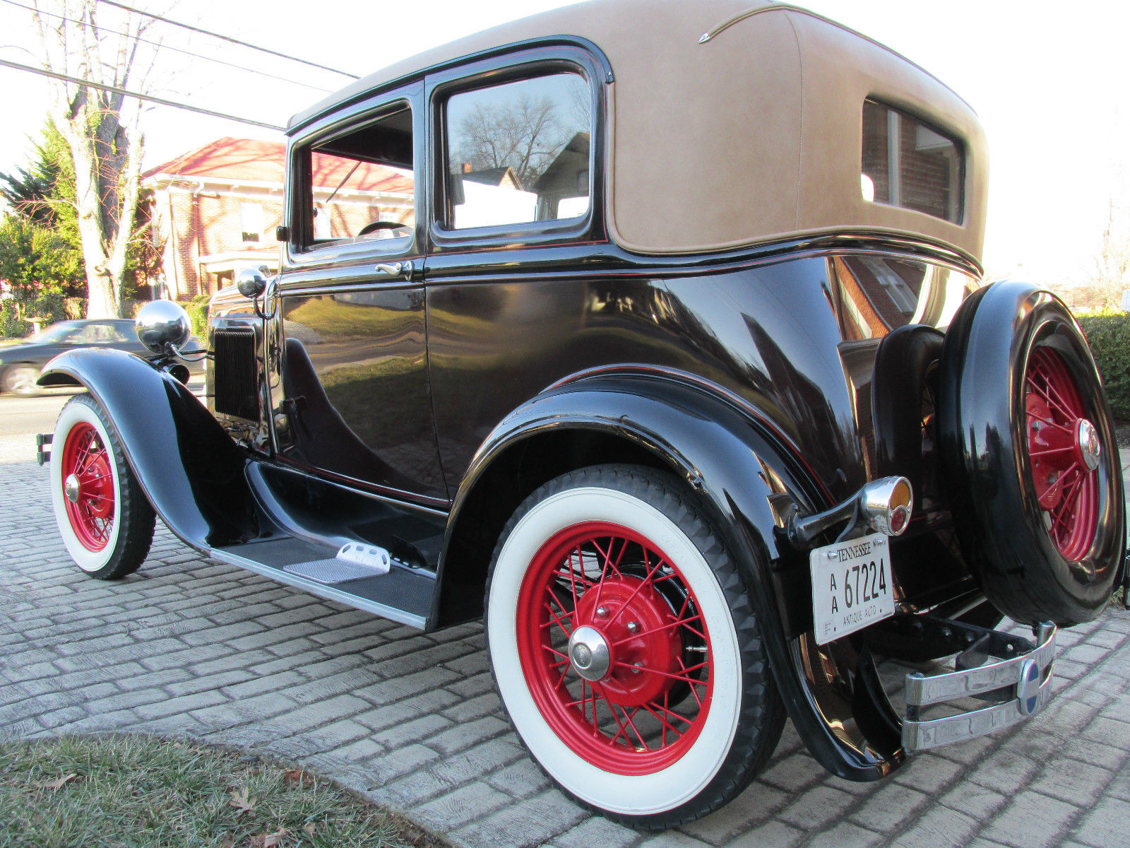 1931 ford model a victoria classic ford model a 1931 for sale. Black Bedroom Furniture Sets. Home Design Ideas