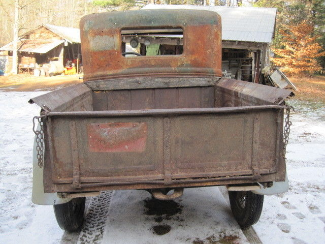 1931 ford model a widebed closed cab pickup truck ford truck trailer wiring #7