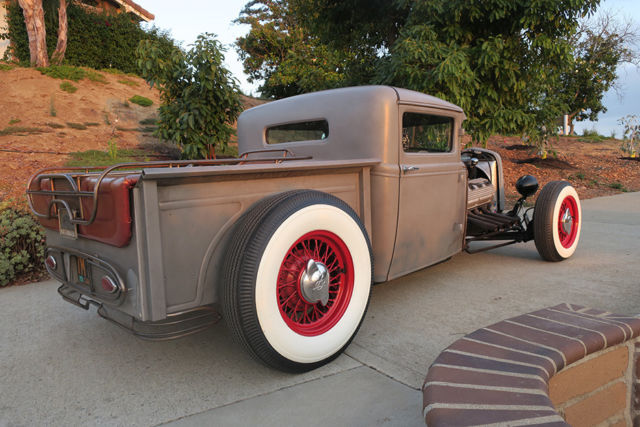 Ford Pick Up Truck Desoto Hemi Engine Old School Hot Rod Mile Build
