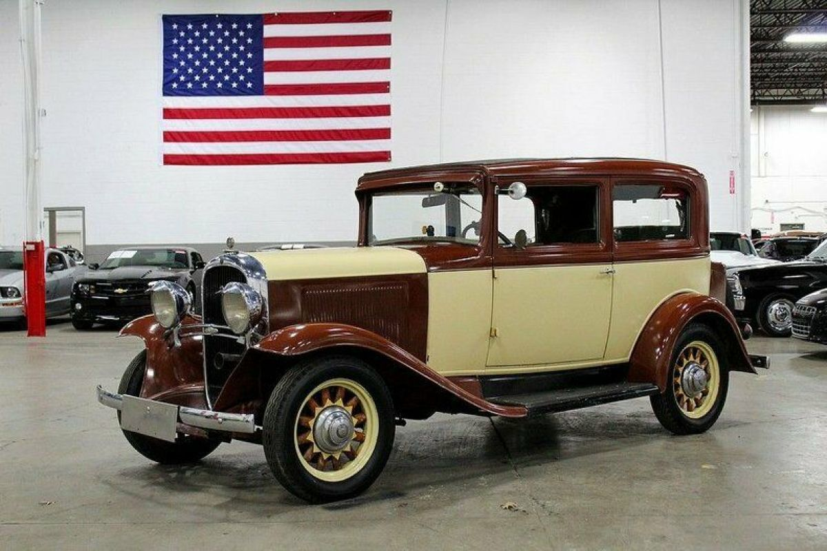 1931 Oldsmobile F31 5056 Miles Brown 197 5 Manual