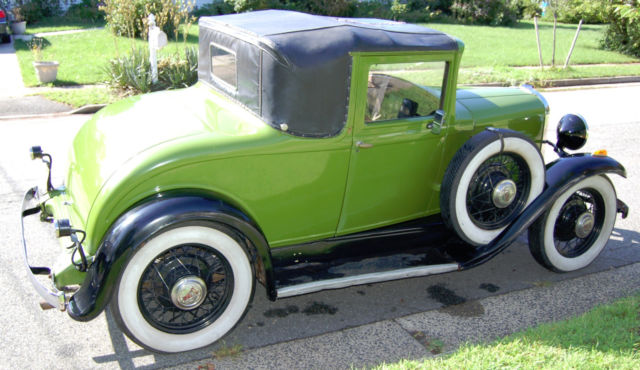 1931 Willys 6 Coupe Runs Drives Classic Willys Model