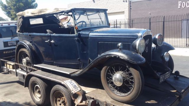 Cars For Sale In Los Angeles >> 1932 AUSTIN 12/6 Open Road tourer 1930 1931 convertible ...