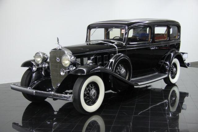 1932 cadillac 370b v12 imperial limousine classic. Black Bedroom Furniture Sets. Home Design Ideas