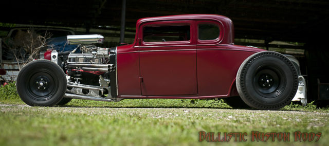 1932 CHEVROLET 5-window coupe 1 OF A KIND FULL CUSTOM hot