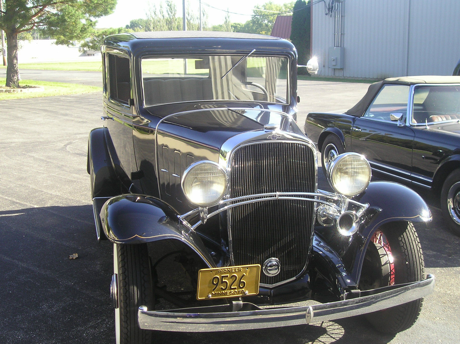 1932 Chevrolet Confederate 2 Door Sedan Classic