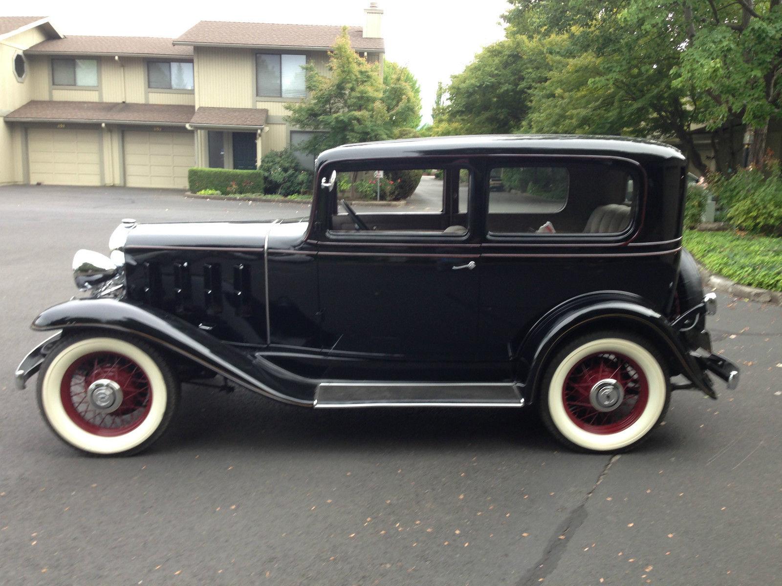 1932 Chevrolet Confederate 2 Door Sedan Classic