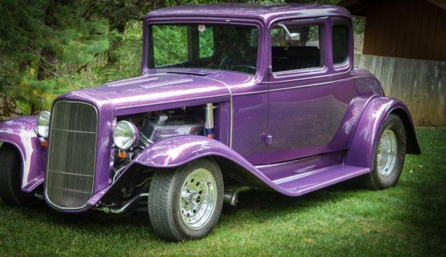 1932 Chevy Street Rod   Vintage Old School Custom   Steel Body