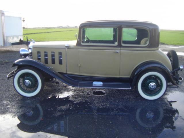 1932 CHEVY VICTORIA 5 PASSENGER COUPE - Classic Chevrolet 5