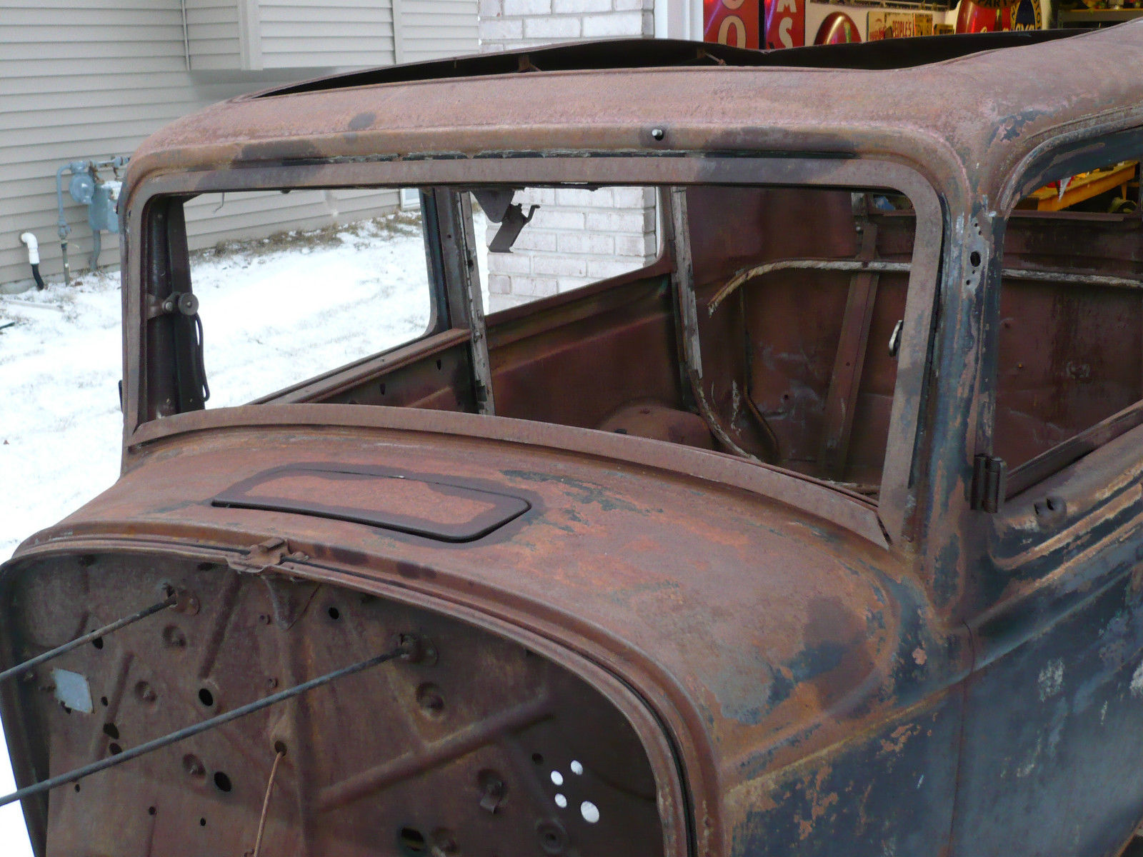1932 Ford 2 Door Sedan Project Hot Rod Tudor Frame Grille