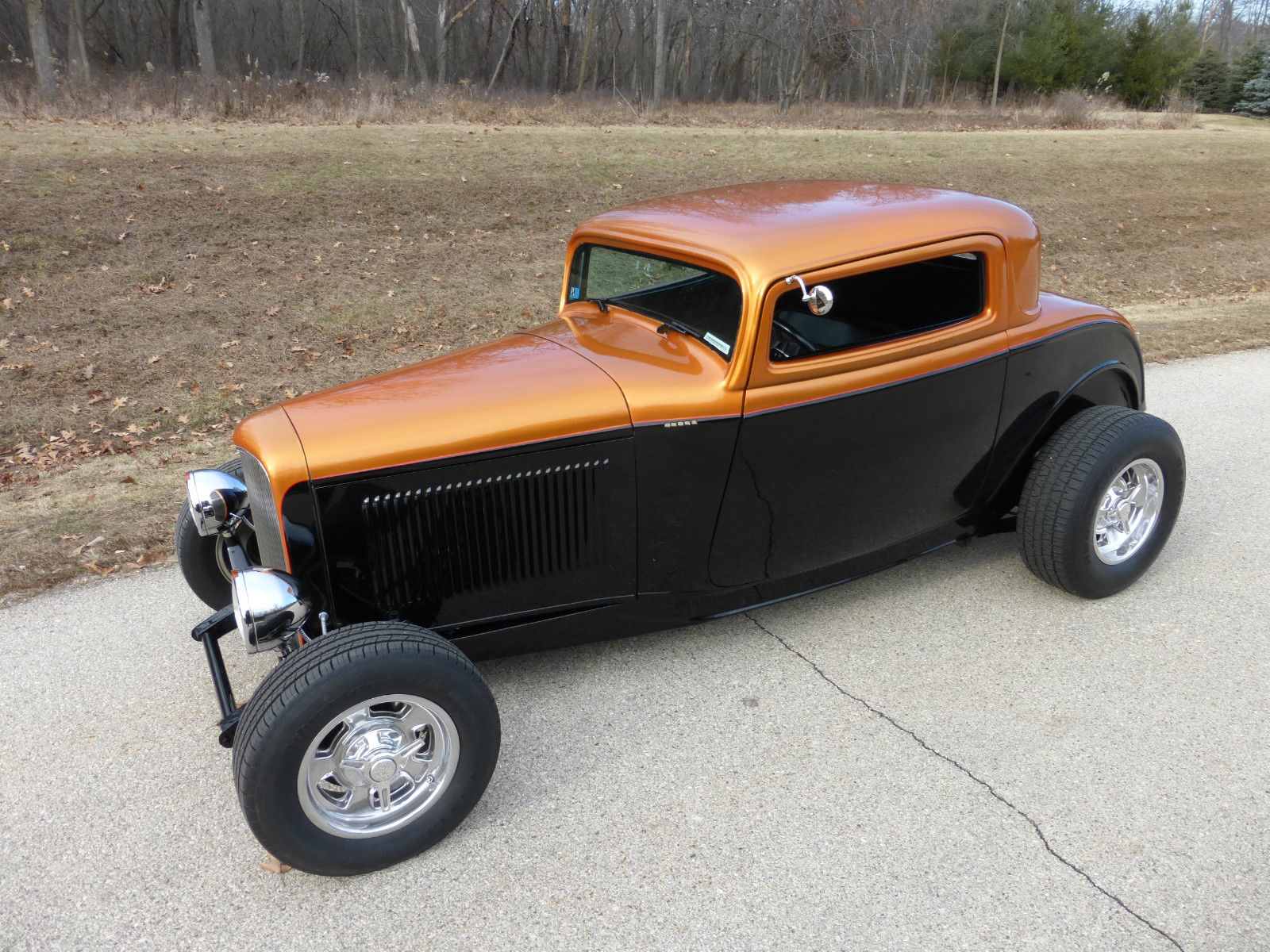 1932 ford 3 window coupe hot rod high boy or full fendered for 1932 ford three window