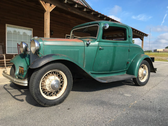1932 Ford 3 Window Coupe Original Henry Steel