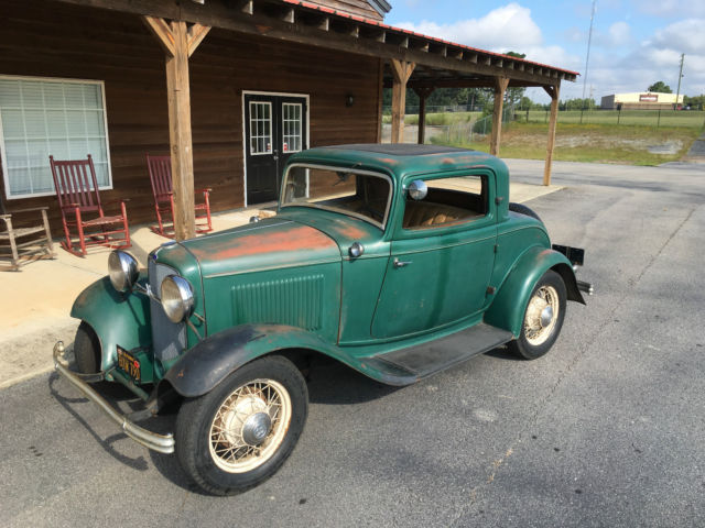 1932 ford 3 window coupe original henry steel for 1932 three window coupe for sale