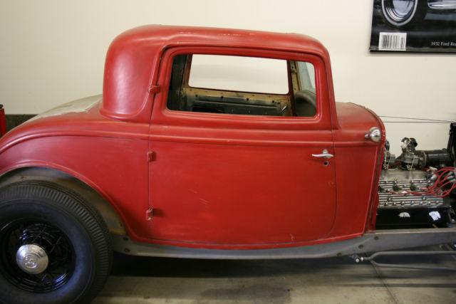Ford Window Coupe Original Steel Body Hot Rod Flathead
