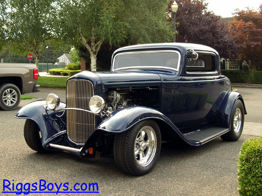 1932 ford 3 window coupe with ravon fiberglass body amp zz4 350 crate