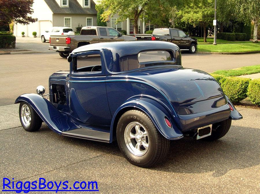 1932 ford 3 window coupe with ravon fiberglass body zz4 for 1932 5 window coupe body