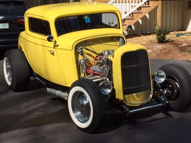 1932 Ford 3 Window Deuce Coupe Street Rod Exceptional