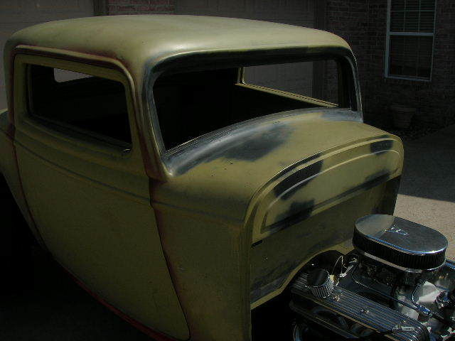 1932 ford chop top 3 window coupe steel body classic for 1932 ford 3 window coupe steel body