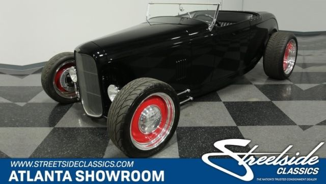 1932 ford highboy roadster convertible 401 v8 automatic column classic vintag classic ford. Black Bedroom Furniture Sets. Home Design Ideas