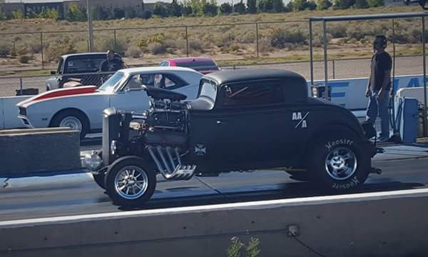 1932 ford hot rod drag coupe altered