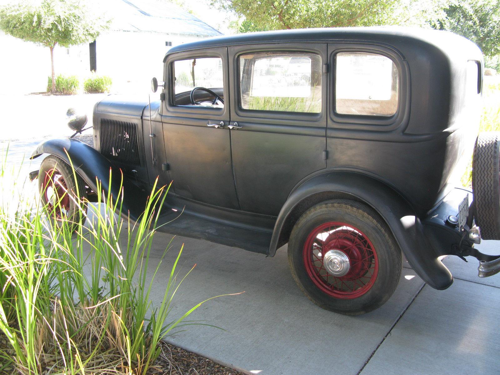 1932 Ford Rare Original Sedan All Henry All Steel
