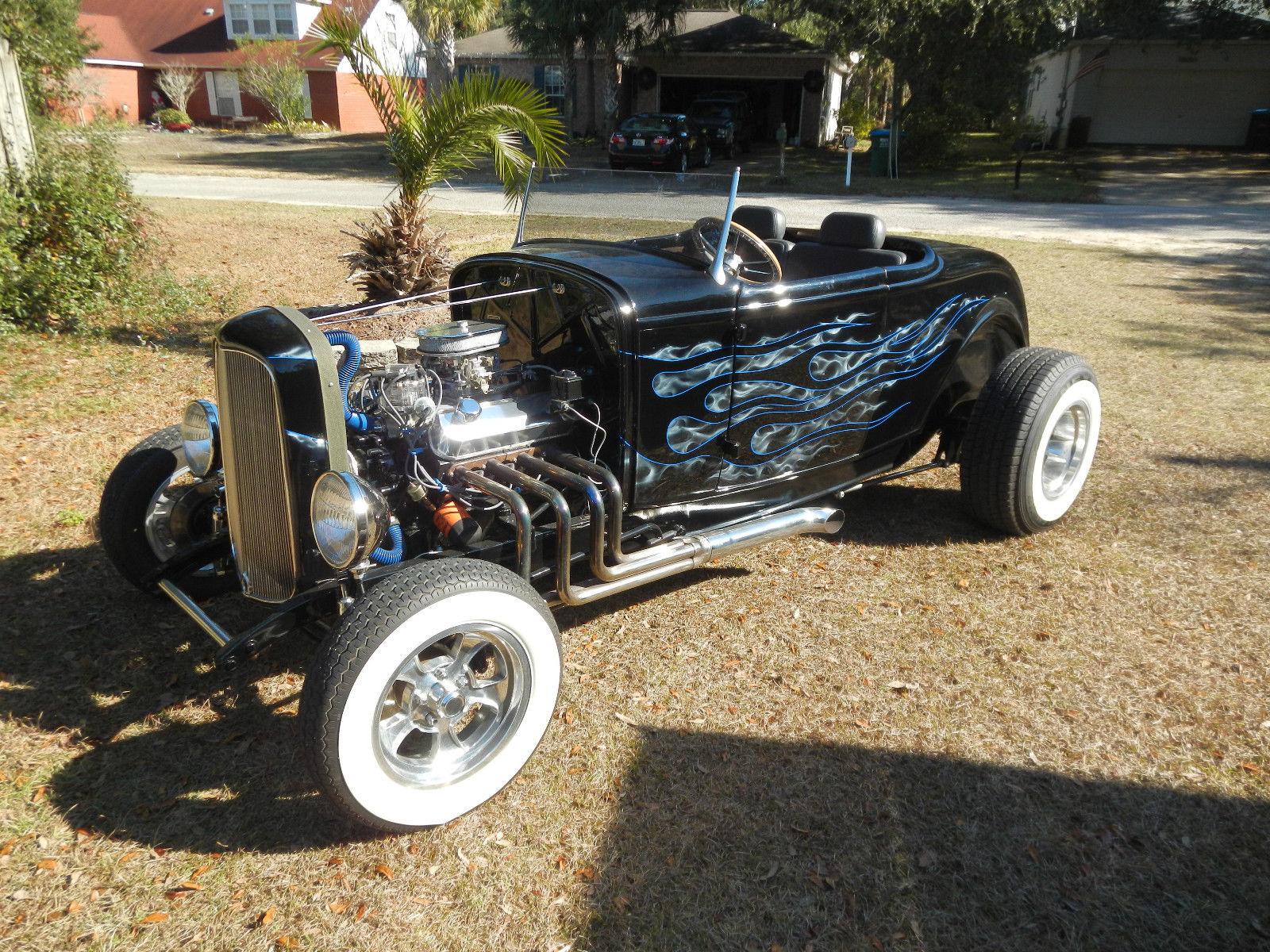 Ford Roadster Highboy Duece Rails Ford Powered Hotrod Rat Rod Custom