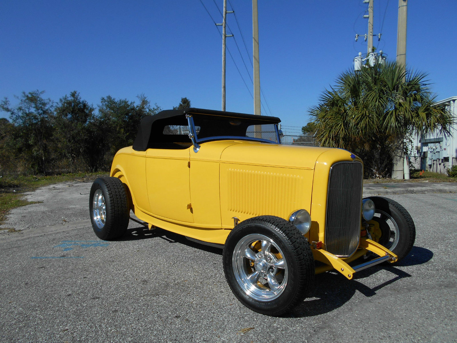 1932 ford roadster highboy street rod 350 auto full steel. Black Bedroom Furniture Sets. Home Design Ideas