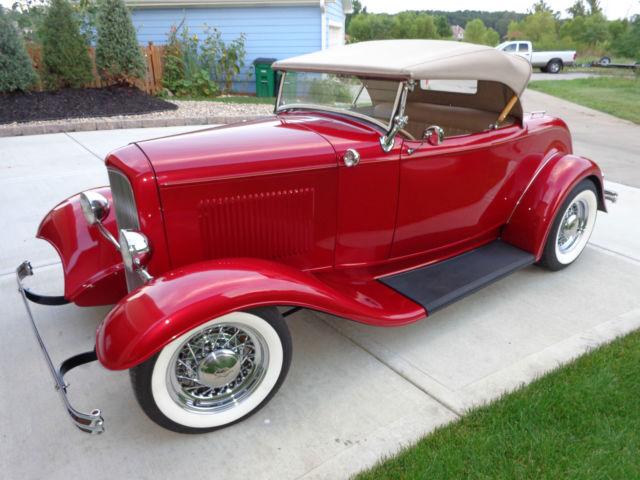 1932 Ford Roadster Hot Rod Street Rod Full Fendered