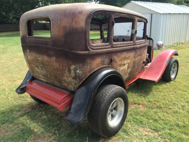 1932 ford sedan four door gasser 32 deuce project rat rod for 1932 ford four door