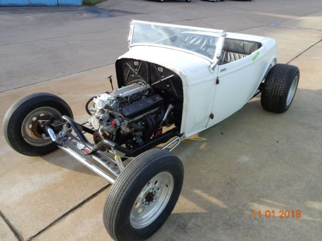 1932 Ford Speedway Motors Lowboy Roadster Project Roller