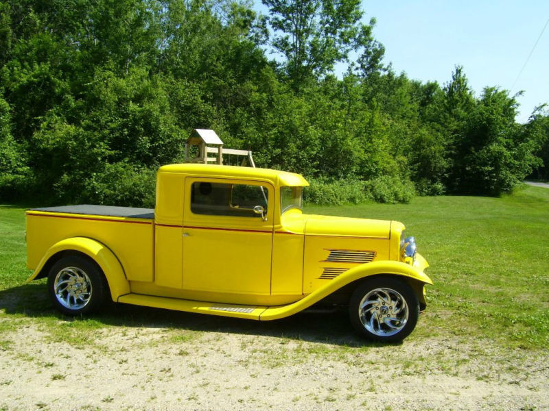 1932 Ford Stretched Chopped Pick Up Project Classic Ford