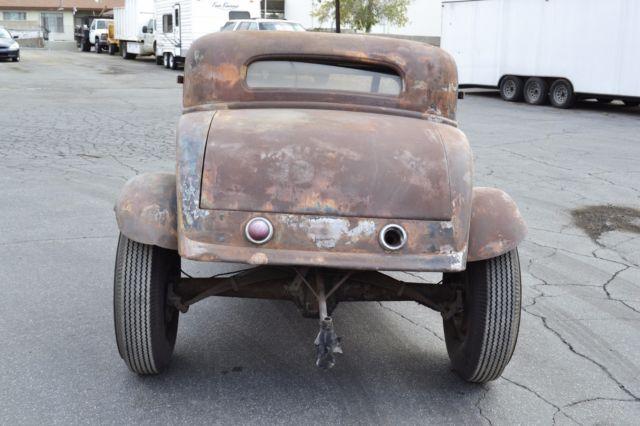 1932 Ford Three Window Barn Find Drag Car 3 Window Coupe ...
