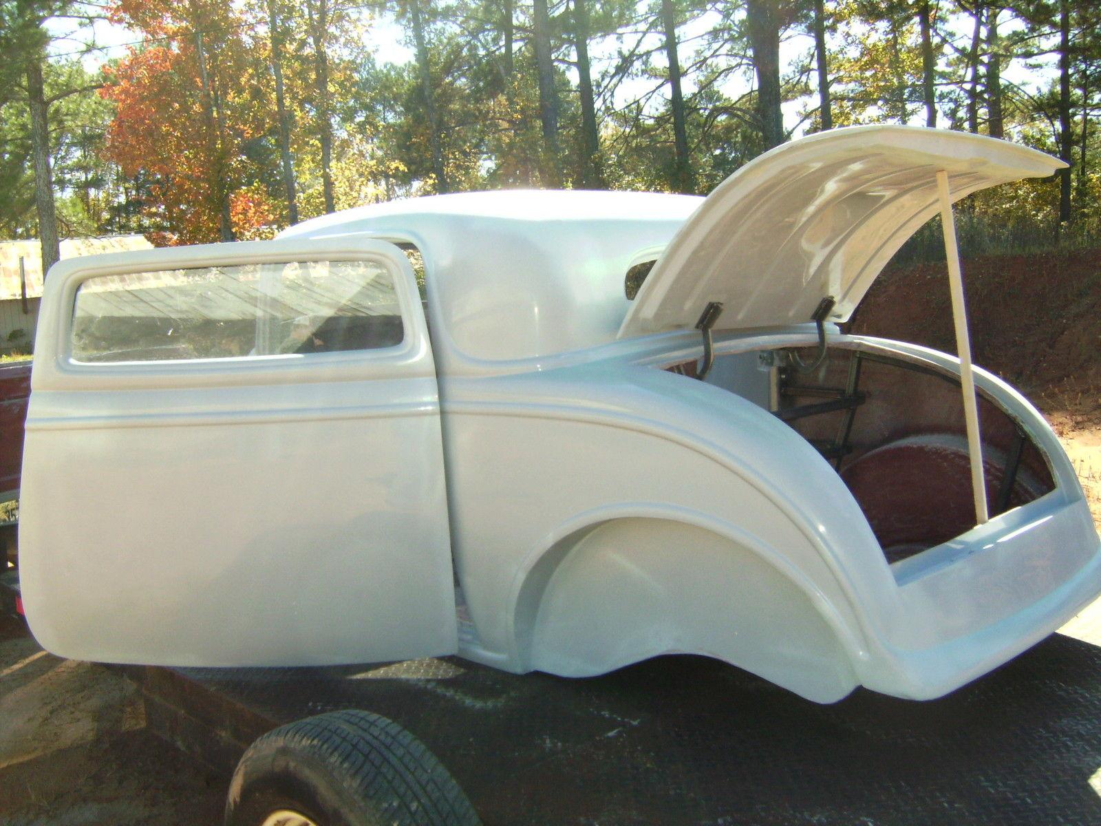 1932 ford three window coupe fiberglass new body hot rat for 1932 ford 3 window coupe fiberglass body