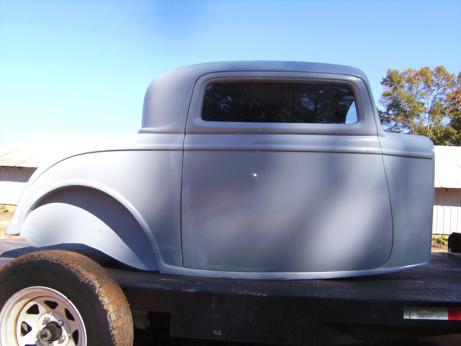 1932 ford three window coupe fiberglass new body hot rat for 1932 ford 3 window coupe hot rod
